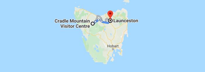 Cradle to Launceston